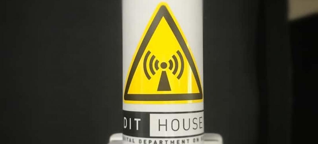 Meine wireless Antenne – Bitte Sicherheitsabstand einhalten